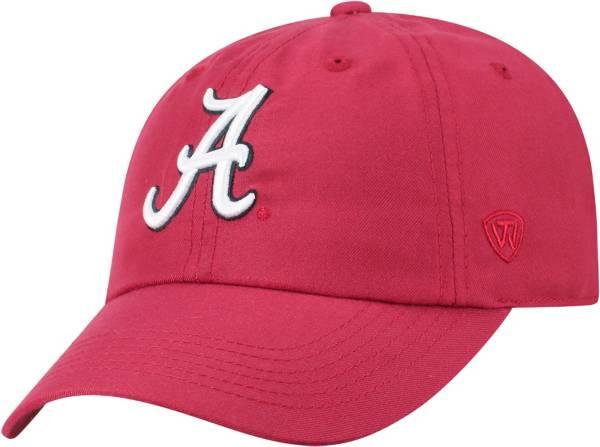 Top of the World Men's Alabama Crimson Tide Crimson Staple Adjustable Hat product image