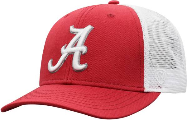 Top of the World Men's Alabama Crimson Tide Crimson/White Trucker Adjustable Hat product image