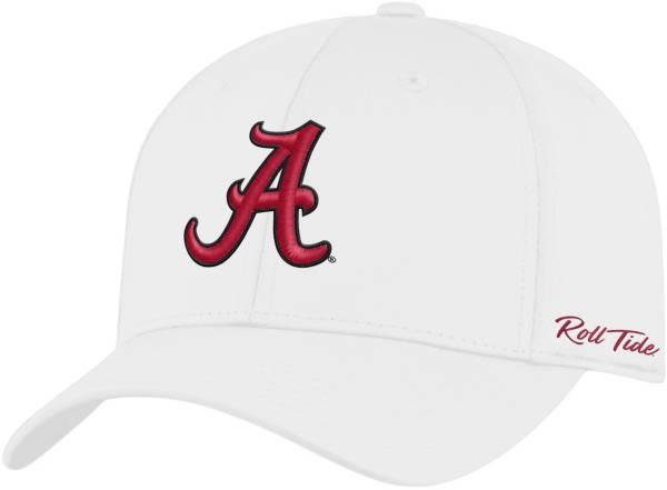 Top of the World Men's Alabama Crimson Tide Phenom 1Fit Flex White Hat product image