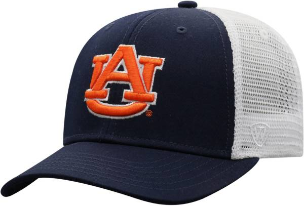 Top of the World Men's Auburn Tigers Blue/White Trucker Adjustable Hat product image