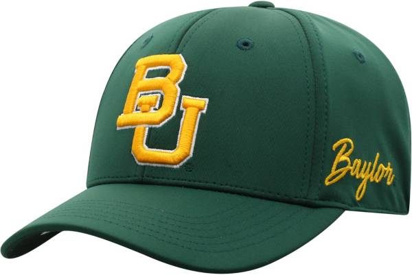 Top of the World Men's Baylor Bears Green Phenom 1Fit Flex Hat product image