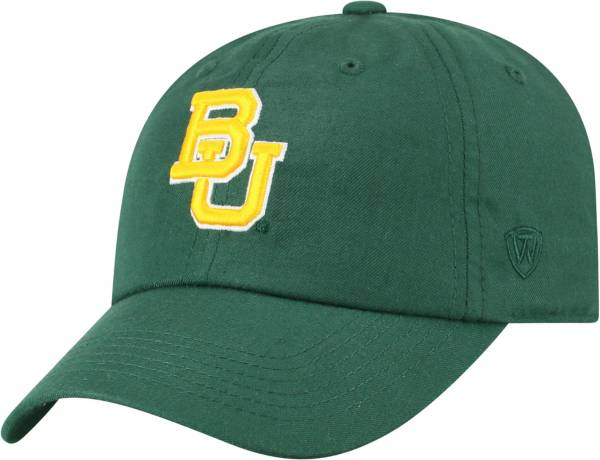 Top of the World Men's Baylor Bears Green Staple Adjustable Hat product image