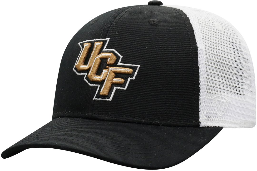 d34dca0c986b25 Top of the World Men's UCF Knights Black/White Trucker Adjustable Hat