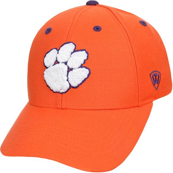 Top of the World Men's Clemson Tigers Orange Triple Threat Adjustable Hat product image