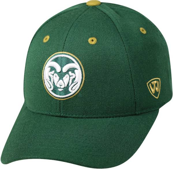 Top of the World Men's Colorado State Rams Green Triple Threat Adjustable Hat product image