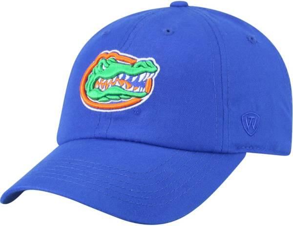 Top of the World Men's Florida Gators Blue Staple Adjustable Hat product image