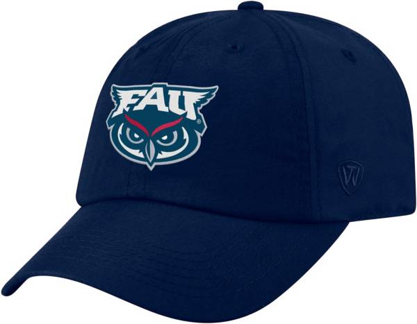 Top of the World Men's Florida Atlantic Owls Blue Staple Adjustable Hat product image