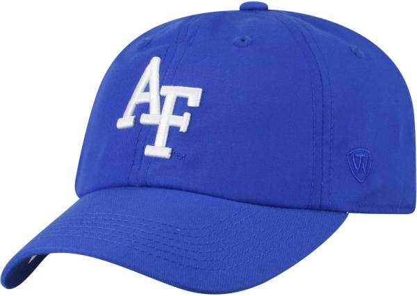 Top of the World Men's Air Force Falcons Blue Staple Adjustable Hat product image