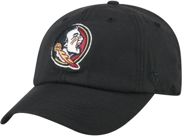Top of the World Men's Florida State Seminoles Staple Adjustable Black Hat product image