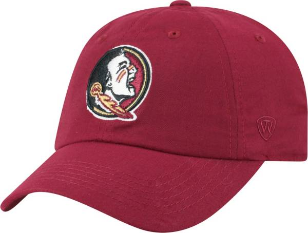 Top of the World Men's Florida State Seminoles Garnet Staple Adjustable Hat product image