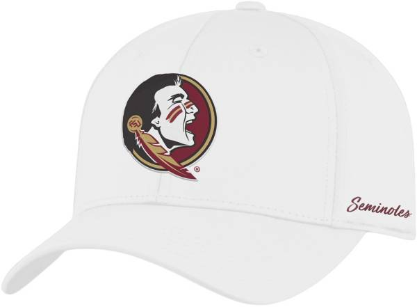 Top of the World Men's Florida State Seminoles Phenom 1Fit Flex White Hat product image