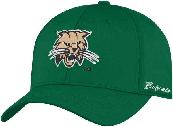 Top of the World Men's Ohio Bobcats Green Phenom 1Fit Flex Hat product image