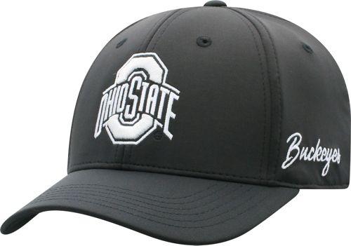 1403af8e65dcf OSU Men s Ohio State Buckeyes Phenom 1Fit Flex Black Hat. noImageFound.  Previous