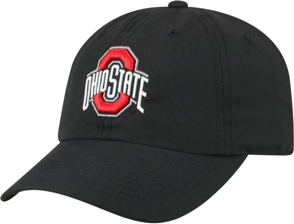 Top of the World Men's Ohio State Buckeyes Staple Adjustable Black Hat product image