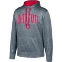 Scarlet & Gray Mens Ohio State Foundation Poly Hoodie