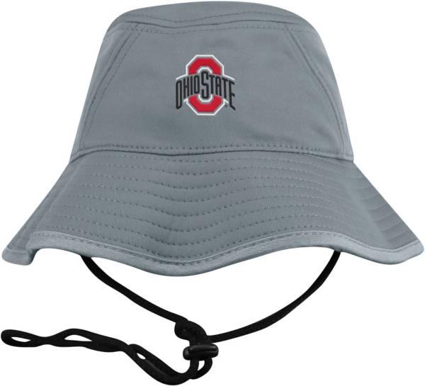 Top of the World Men's Ohio State Buckeyes Grey Bucket Hat product image