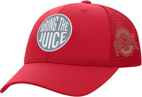 Top of the World Youth Ohio State Buckeyes Scarlet Ace Adjustable Hat product image