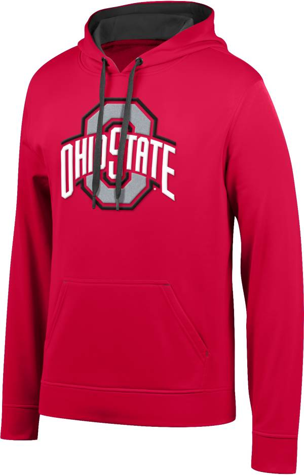 Scarlet & Gray Men's Ohio State Buckeyes Scarlet Foundation Poly Hoodie product image