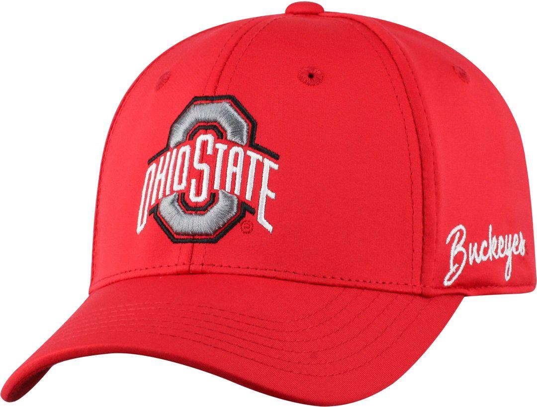 designer fashion 75831 6df7f Top of the World Men s Ohio State Buckeyes Scarlet Phenom 1Fit Flex Hat.  noImageFound. Previous