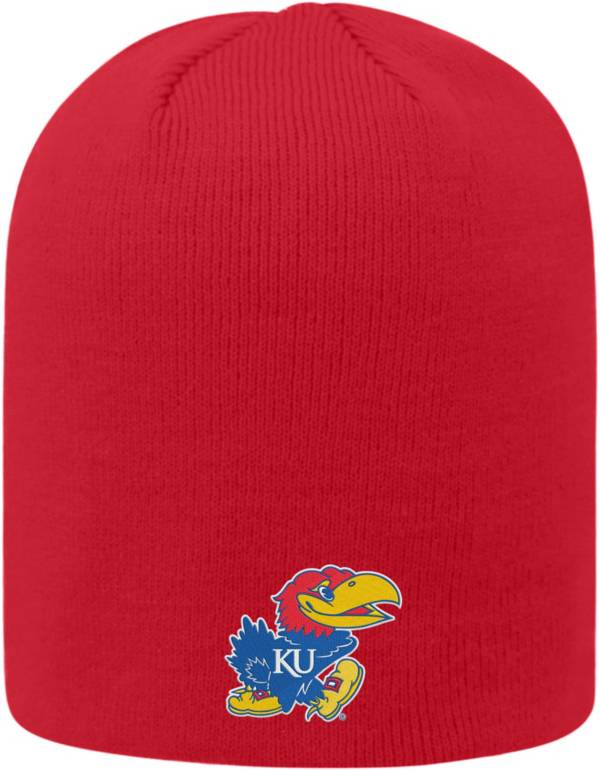 Top of the World Men's Kansas Jayhawks Crimson Classic Knit Beanie product image