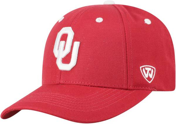 Top of the World Men's Oklahoma Sooners Crimson Triple Threat Adjustable Hat product image