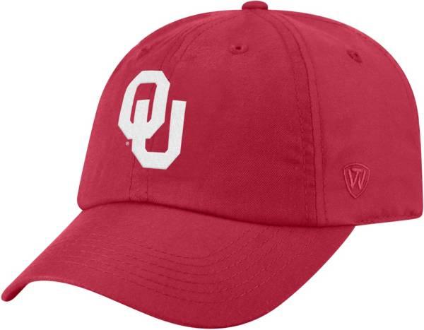 Top of the World Men's Oklahoma Sooners Crimson Staple Adjustable Hat product image