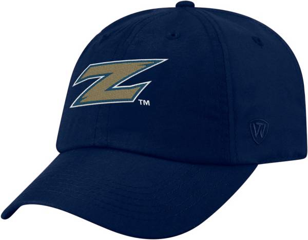 Top of the World Men's Akron Zips Navy Staple Adjustable Hat product image