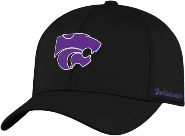Top of the World Men's Kansas State Wildcats Phenom 1Fit Flex Black Hat product image