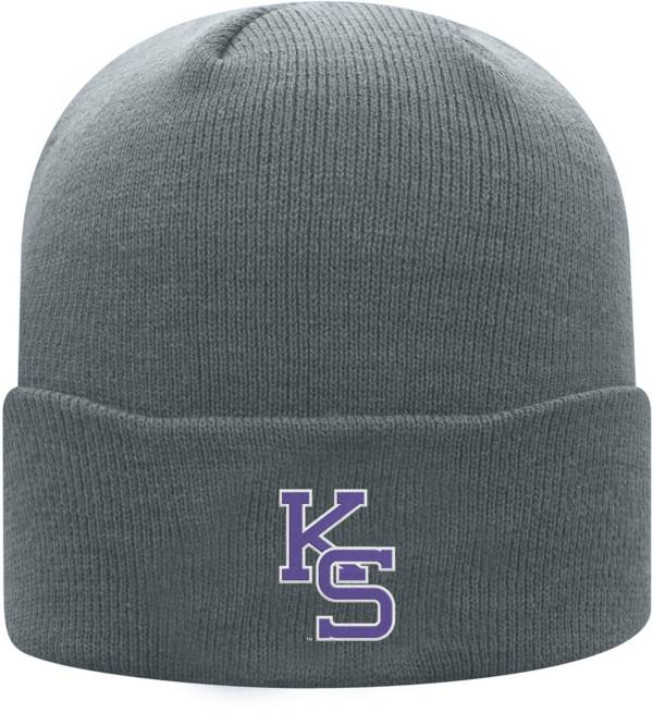 Top of the World Men's Kansas State Wildcats Grey Cuff Knit Beanie product image