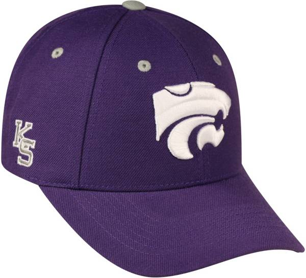 Top of the World Men's Kansas State Wildcats Purple Triple Threat Adjustable Hat product image