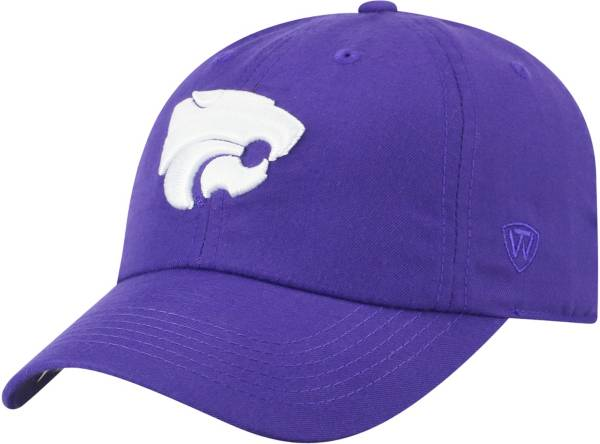 Top of the World Men's Kansas State Wildcats Purple Staple Adjustable Hat product image