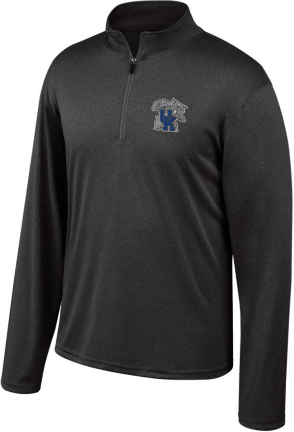 Top of the World Men's Kentucky Wildcats Black Quarter-Zip Pullover Shirt product image