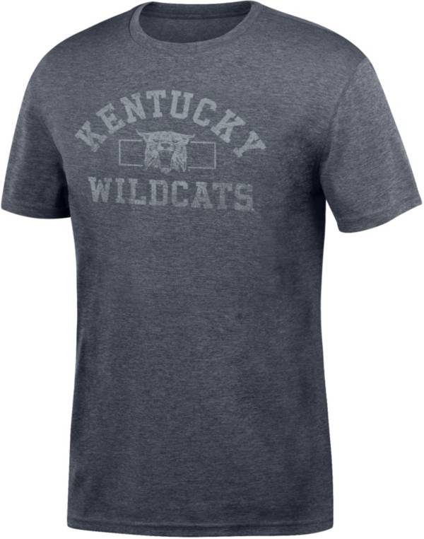 Top of the World Men's Kentucky Wildcats Grey Distressed Chrome T-Shirt product image