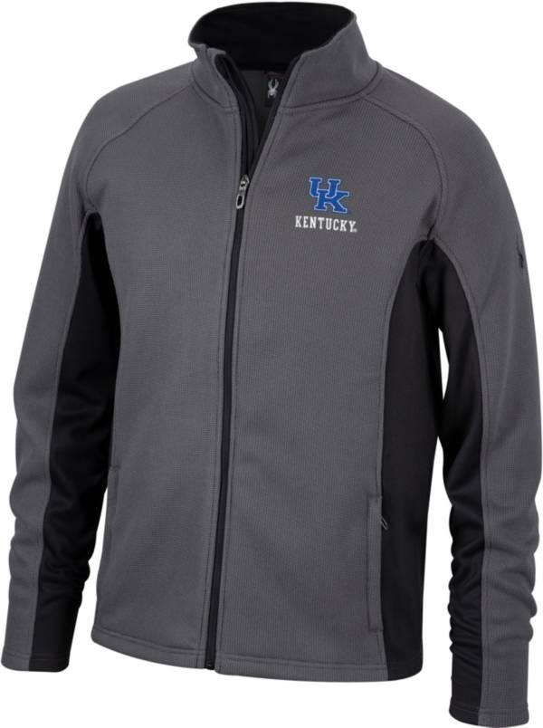 Spyder Men's Kentucky Wildcats Grey Constant Full-Zip Fleece Jacket product image