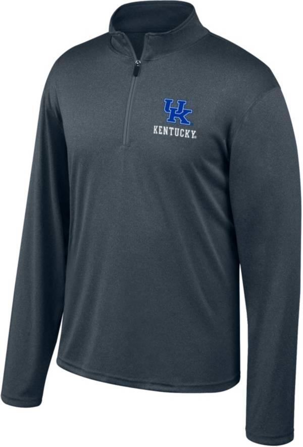 Top of the World Men's Kentucky Wildcats Grey Quarter-Zip Shirt product image