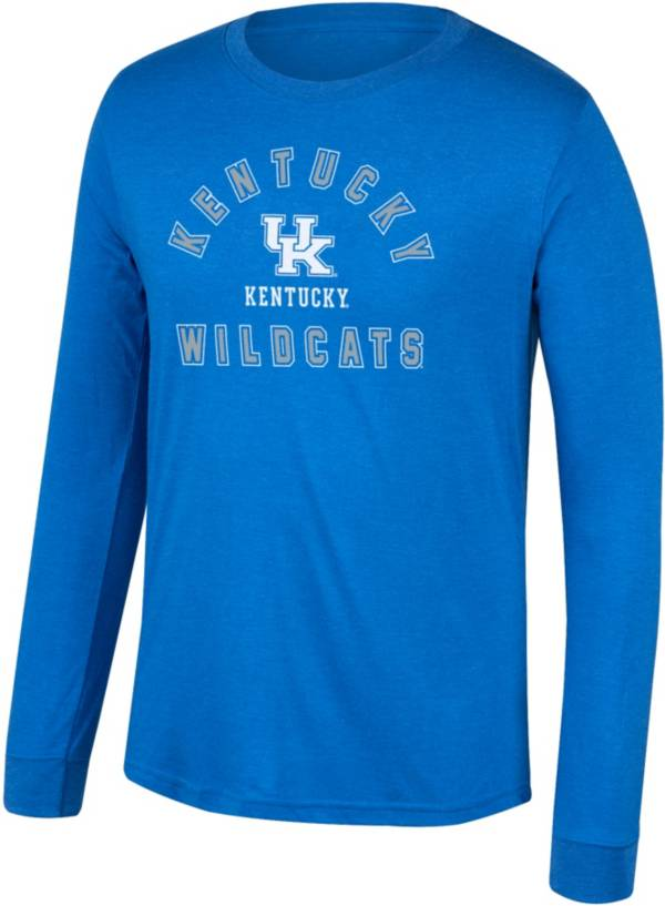 Top of the World Men's Kentucky Wildcats Blue Heritage Tri-Blend Long Sleeve T-Shirt product image
