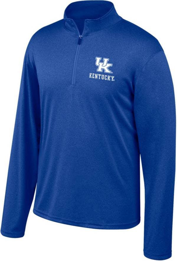 Top of the World Men's Kentucky Wildcats Blue Quarter-Zip Shirt product image