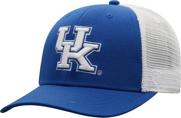 Top of the World Men's Kentucky Wildcats Blue/White Trucker Adjustable Hat product image