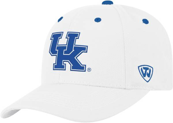 Top of the World Men's Kentucky Wildcats Triple Threat Adjustable White Hat product image