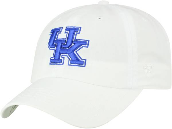 Top of the World Men's Kentucky Wildcats Staple Adjustable White Hat product image