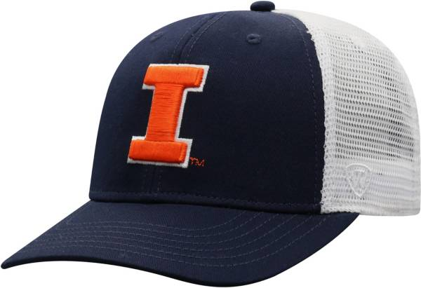 Top of the World Men's Illinois Fighting Illini Blue/White Trucker Adjustable Hat product image