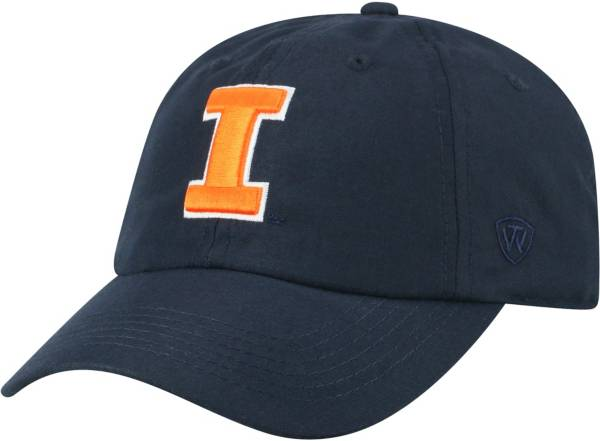Top of the World Men's Illinois Fighting Illini Blue Staple Adjustable Hat product image