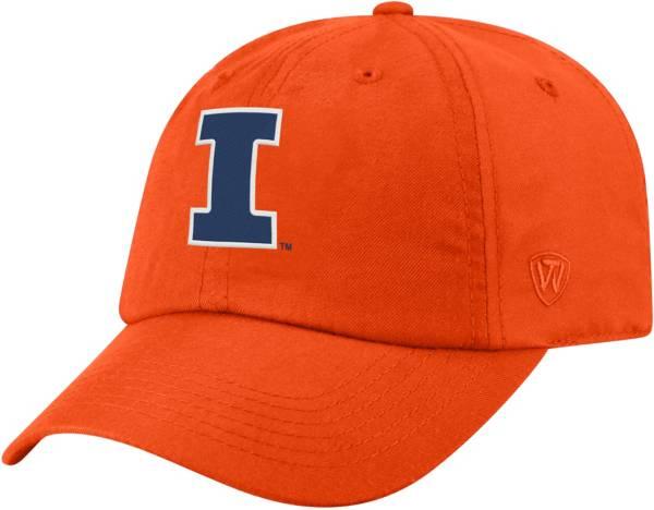 Top of the World Men's Illinois Fighting Illini Orange Staple Adjustable Hat product image