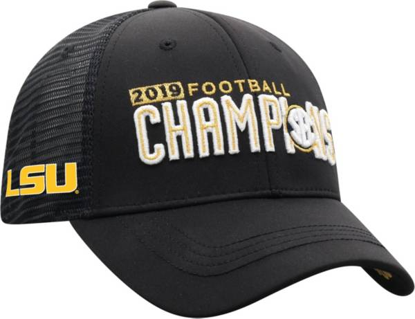 Top of the World Men's 2019 SEC Football Champions LSU Tigers Locker Room Hat product image