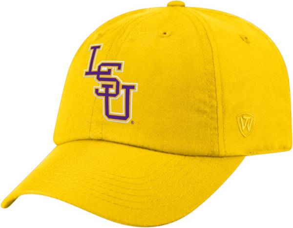 Top of the World Men's LSU Tigers Gold Staple Adjustable Hat product image