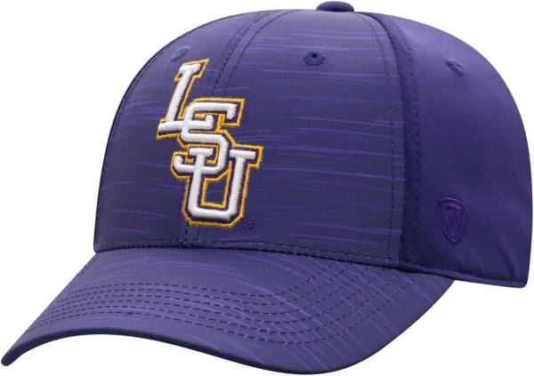 Top of the World Men's LSU Tigers Purple Intrude 1Fit Flex Hat product image