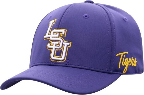 Top of the World Men's LSU Tigers Purple Phenom 1Fit Flex Hat product image