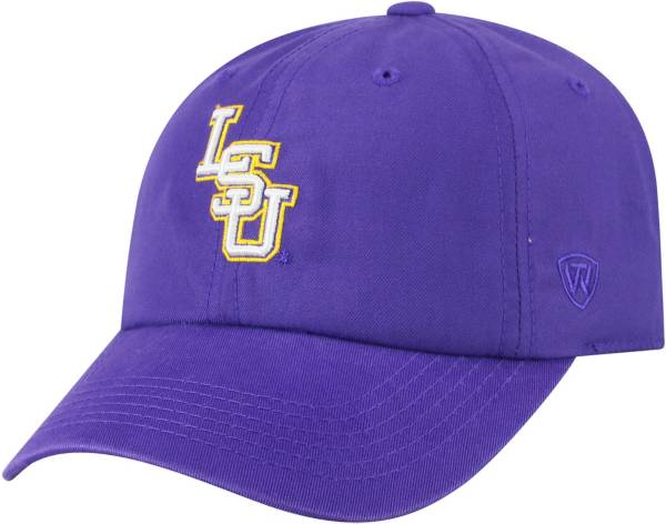 Top of the World Men's LSU Tigers Purple Staple Adjustable Hat product image