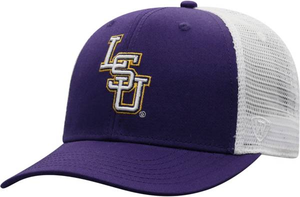 Top of the World Men's LSU Tigers Purple/White Trucker Adjustable Hat product image