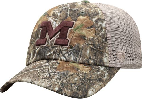 Top of the World Men's Michigan Wolverines Camo Acorn Adjustable Hat product image